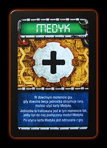 Karty Taktyczne - Medyk