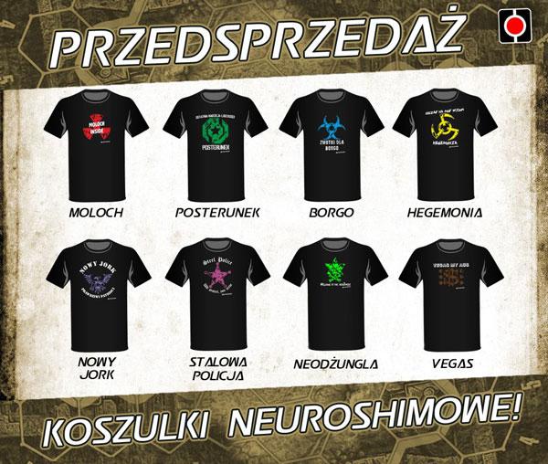 neuroshima-koszulki