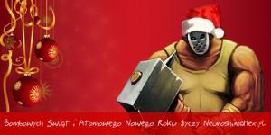 Kartka świąteczna NeuroshimaHex.pl